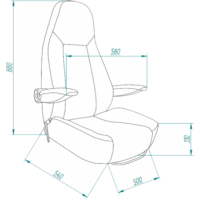 FASP Seat 747L