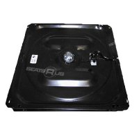 Low profile turntable